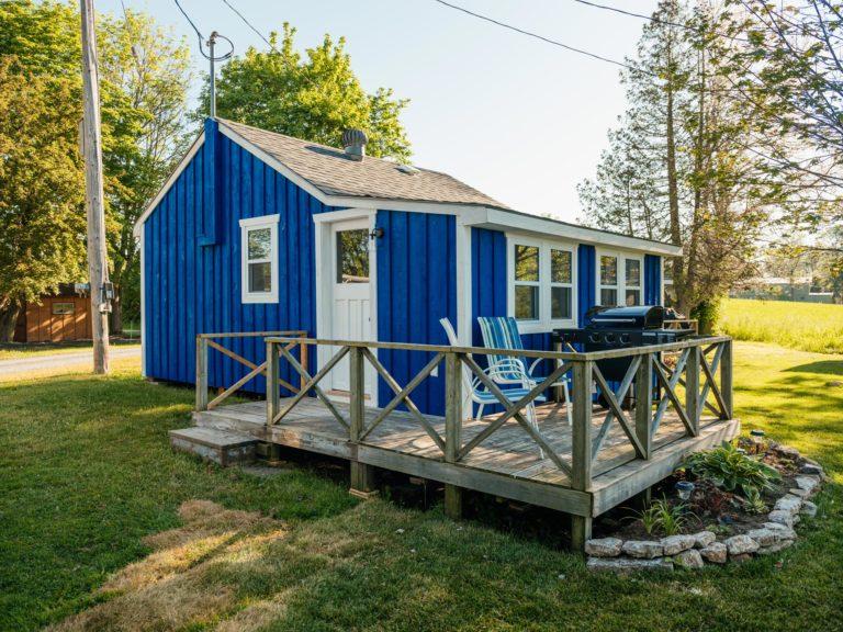White door cottage
